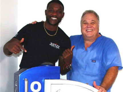 Justin Gatlin Tells The World About His High-Energy ESWT!