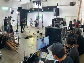 "Carlsberg Smooth Draught '' Smooth Talk Show '' TVC Program Recording   醇滑嘉士伯 ""滑説場"" 廣告節目錄影"