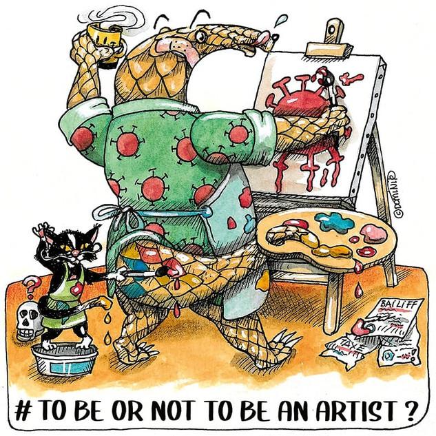 PANGO 50 etre ou ne pas etre un artiste.
