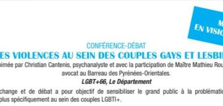 VIOLENCES CONJUGALES DANS LES COUPLES GAYS ET LESBIENS