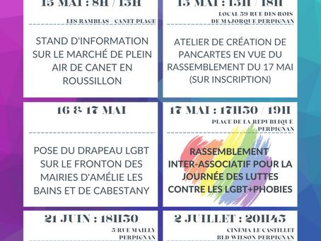 L'AGENDA DES ACTIVITES  DE LGBT+66