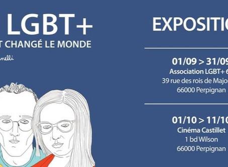 EXPOSITION 20 LGBT+ QUI ONT CHANGE LE MONDE VISIBLE A PARTIR DU 1er OCTOBRE AU CINEMA CASTILLET