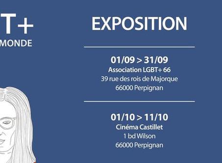 EXPOSITION LES 20 LGBT+ QUI ONT CHANGE LE MONDE PAR FLORENT MANELLI