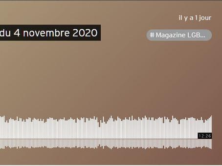 Présentation de la Fédération et interview de radio Occitania - Suite entretien avec Mme la Ministre