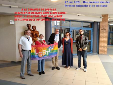 CABESTANY SE DECLARE ZONE LIBRE LGBTI+