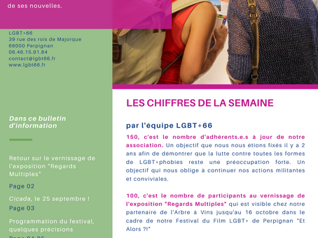 L'Hebdo LGBT+ des Pyrénées-Orientales - sept. 2021 #3