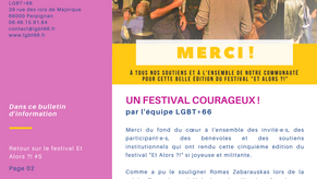 L'Hebdo LGBT+ des Pyrénées-Orientales - octobre 2021 #2