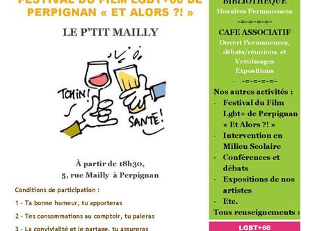 """Et si on buvait un coup ? Spécial Festival du Film LGBT+ de Perpignan """"Et Alors ?!"""""""