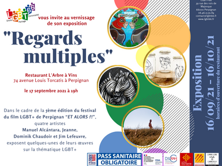 """VERNISSAGE DE L'EXPOSITION """"REGARDS MULTIPLES"""""""