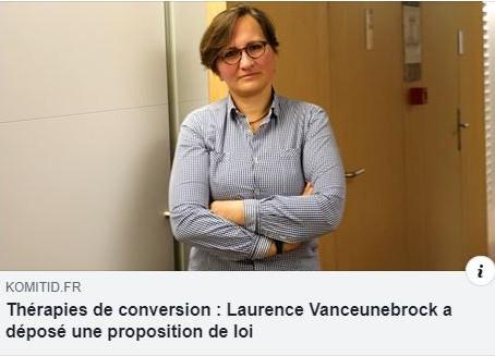 PROJET DE LOI CONTRE LES THÉRAPIES DE CONVERSION