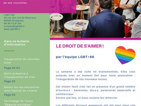 L'Hebdo LGBT+ des Pyrénées-Orientales - sept. 2021 #1