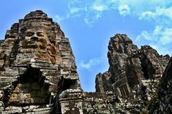 Kambodža - Chrám Bayon u Angkor Wat