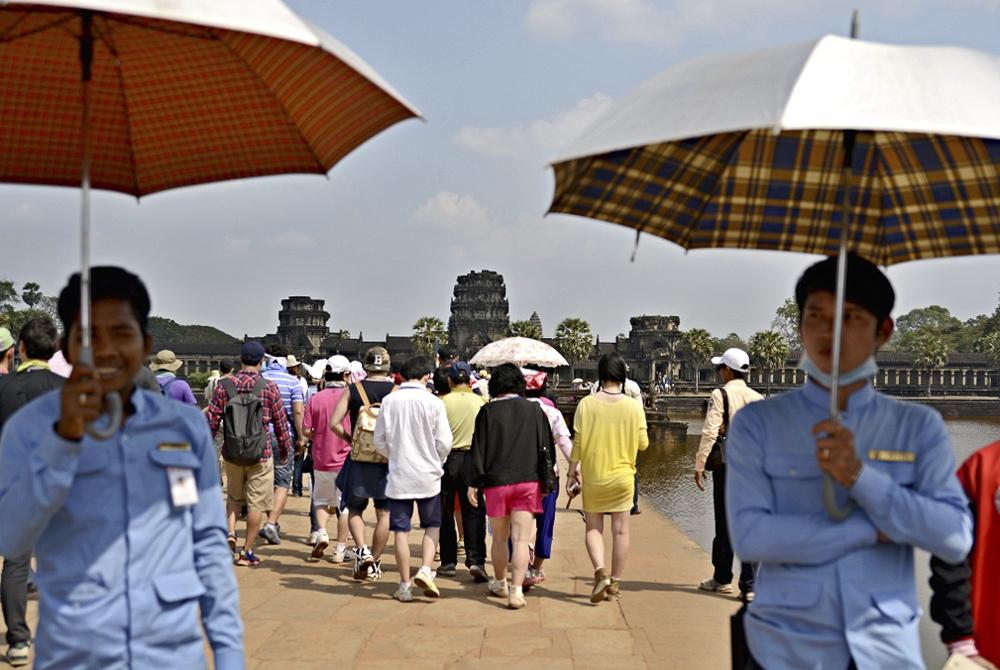 Kambodža - Světoznámý Angkor Wat