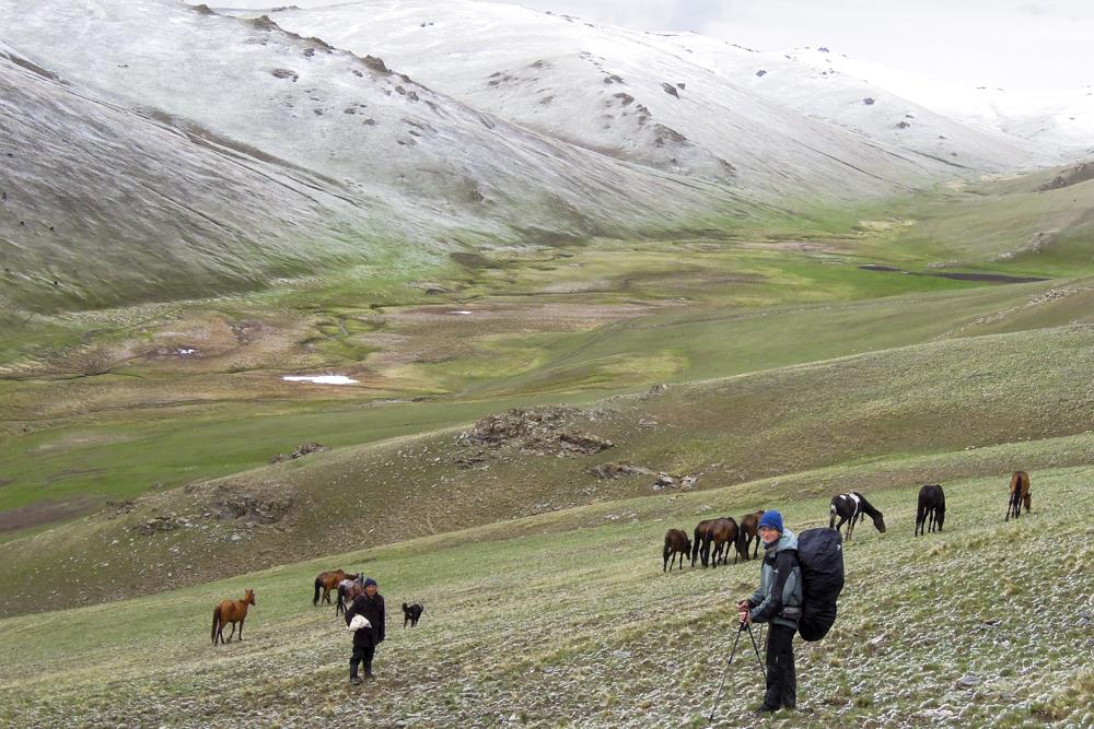 Kyrgyzstán - Trek kolem Song Kul