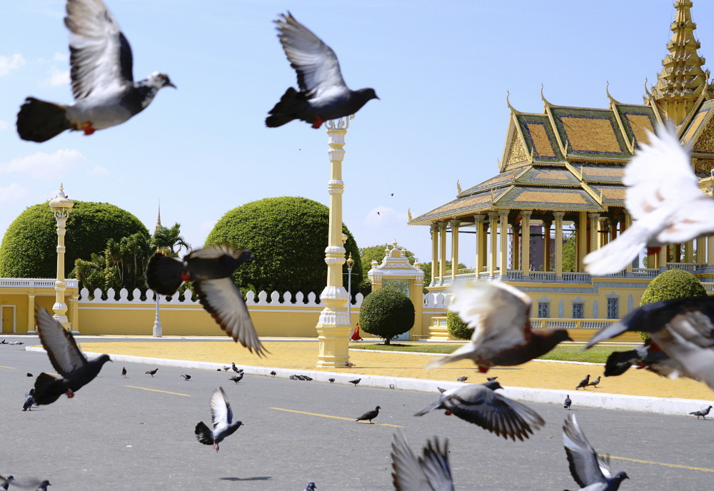 Kambodža - Králov. palác, Phnom Penh
