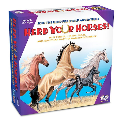 Herd Your Horses! Board Game