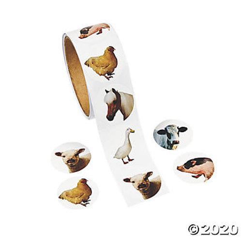 Farm Animal Stickers