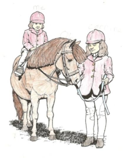 Lauryn Loves Riding
