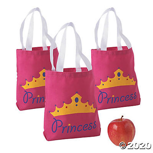 Princess Canvas Tote Bag