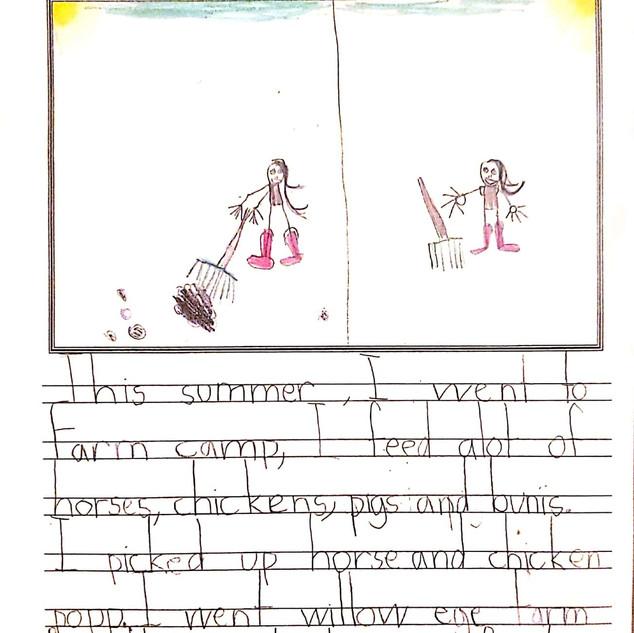 Sophie's Favorite Summer Memory