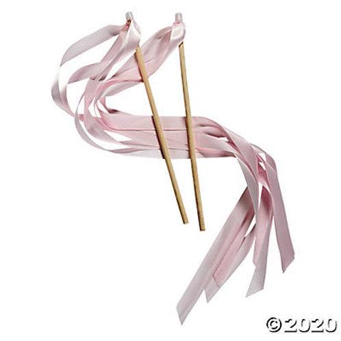 Pink Ribbon Wand
