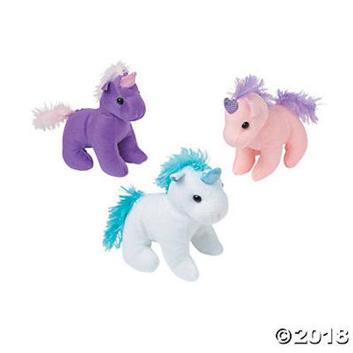 """6""""Stuffed Unicorn"""