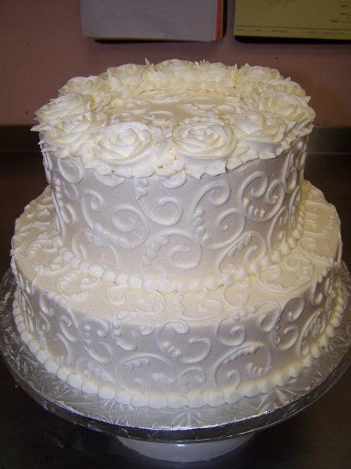 Intro to cake decorating- April 16, 2016