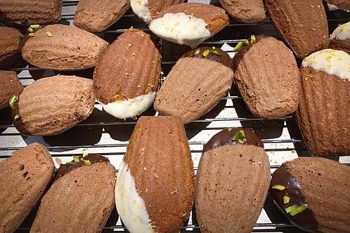 Matcha And Vanilla Madeleines (6pcs)