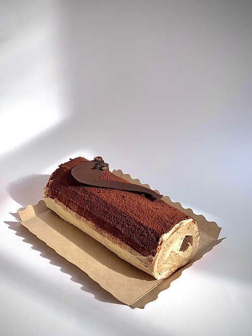 Father's Day Cappuccino Roll Cake