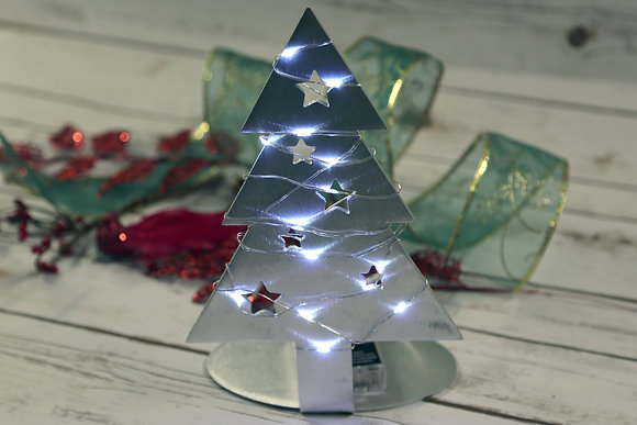 Aluminum Table Top Christmas Tree