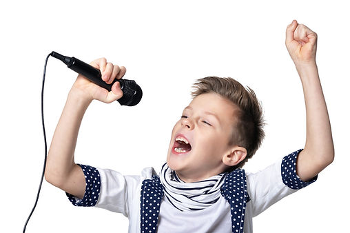 Little boy with microphone.jpg