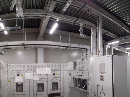 Введены в эксплуатацию новые объекты с применением шинопроводных систем BBI Electric.