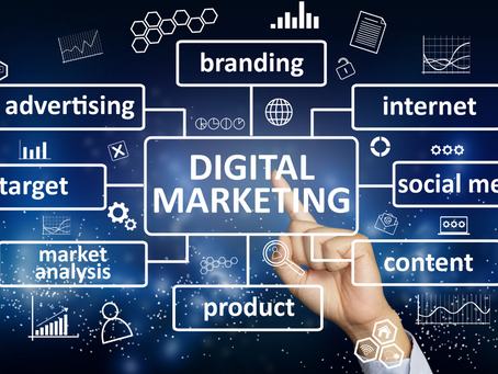 It's time for digital marketing….