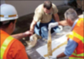 pipe patch sewer repair installation