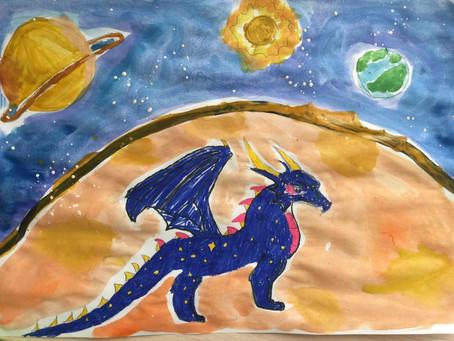 Сказка про двух драконов