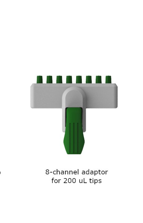 EcoAspir 8-Channel Disposable Tips Adapter