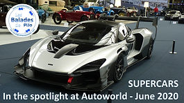 Supercars in the spotlight at Autoworld.
