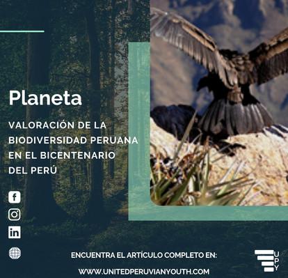 Valuation of Peruvian biodiversity in the Bicentennial of Peru