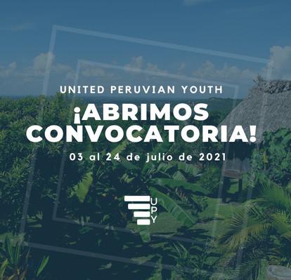 United Peruvian Youth anuncia su segunda convocatoria del año