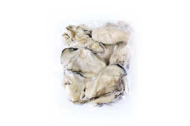 Chair d'huîtres bretonnes surgelées