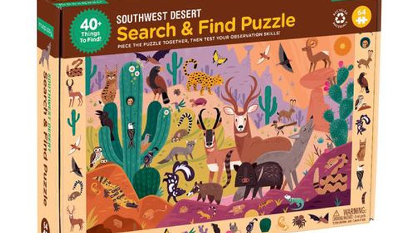 Desert Search Nd Find Puzzle