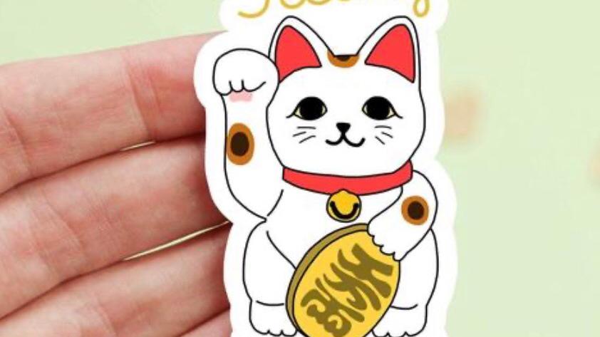 Feelin Lucky Sticker