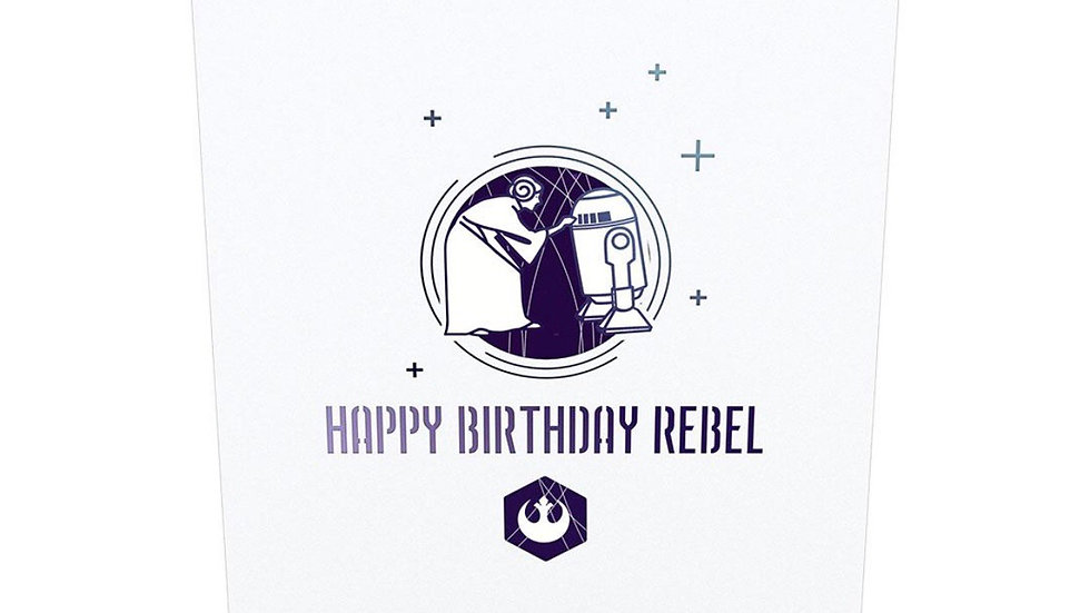Star Wars Pop Up Birthday Card