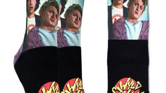 Bill and Ted Wyld Stallions Socks, Womens