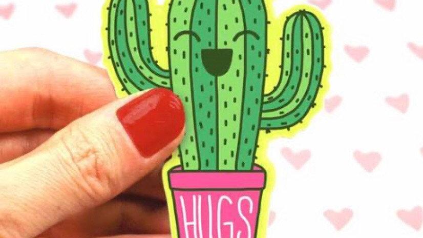 Saguaro Hugs Sticker by Turtle's Soup