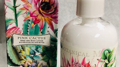 Pink Cactus Hand and Body Lotion by Michel Designs
