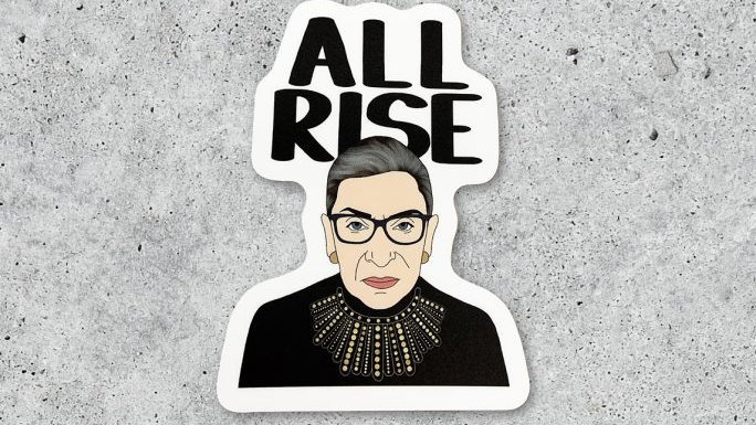 All Rise Sticker