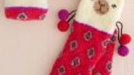 Fuzzy Llama Socks