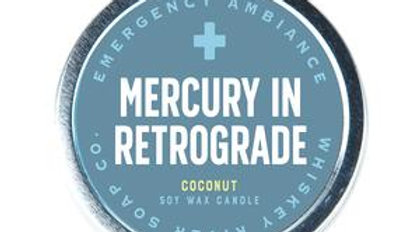 Emergency Ambiance Candle-Mercury