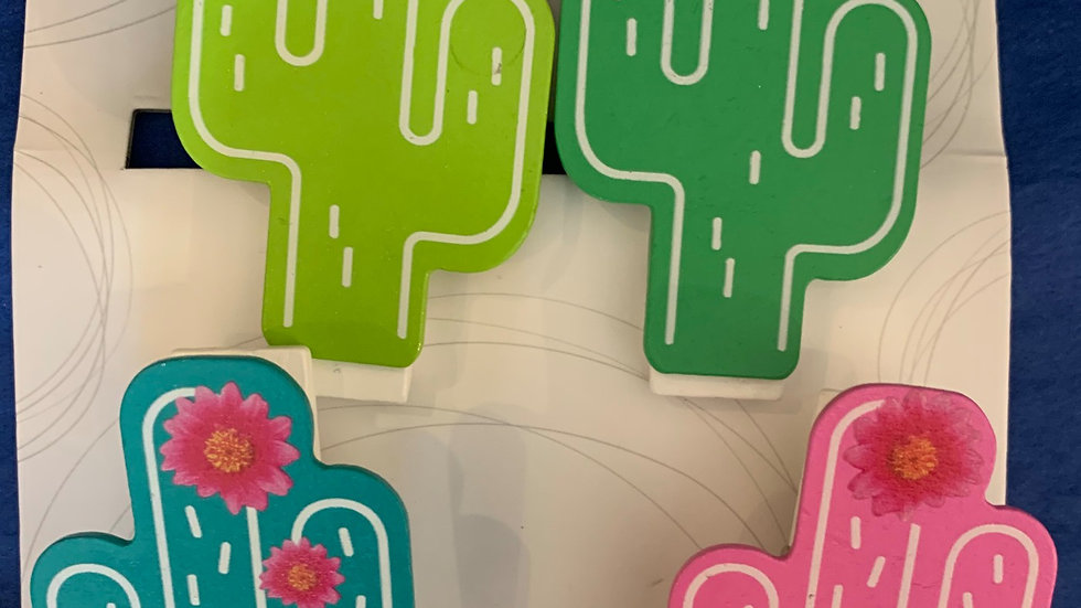 Cactus Chip Clips